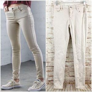Pacsun Bullhead mid rise skinniest jeans long